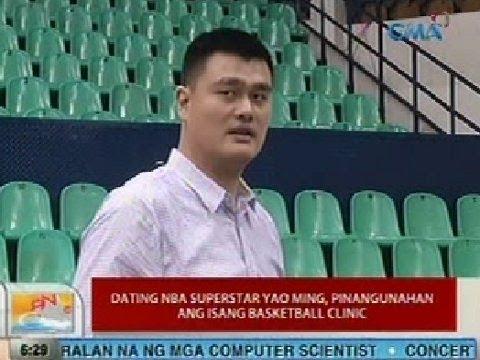 Yao Ming dating droom over dating iemand die je niet bevalt