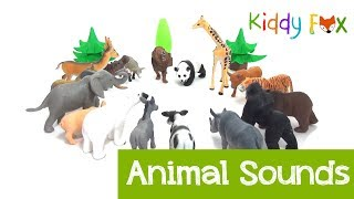 Learning Animal | Animal Sounds | Fire Truck | Fire in the Jungle | Animal Rescue | Tractor