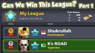 What Happens When Level 476 Appears while You are TOPPING DIAMOND LEAGUE - Part 1 of 3 - 8 Ball Pool