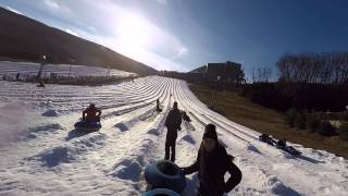 Camelback Snow Tubing Dec 2014