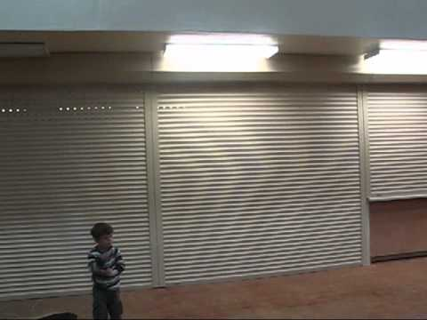 Metal Rolling Storm Security Shutters motorized San Antonio Austin Dallas Houston