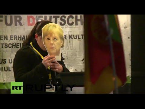 LIVE: LEGIDA holds one-year anniversary march in Leipzig