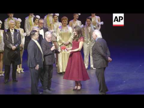 Duchess of Cambridge gets her tap shoes on
