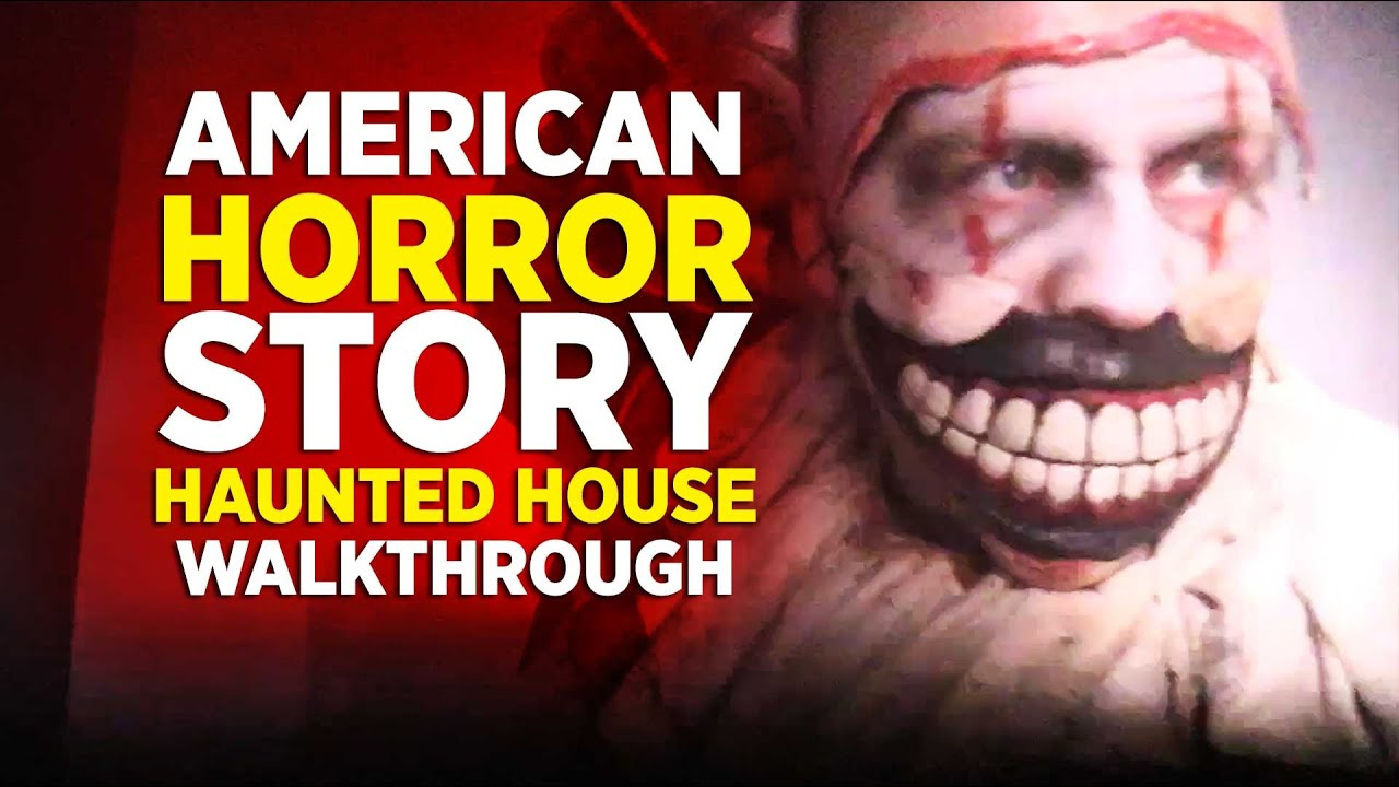 american horror story haunted house at halloween horror nights 2016 universal orlando youtube - Story Of Halloween Movie