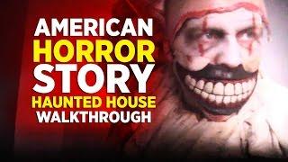 American Horror Story haunted house at Halloween Horror Nights 2016, Universal Orlando