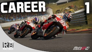 MotoGP 14 Career Mode Part 1 - Close Racing! (MotoGP 2014 Walkthrough)
