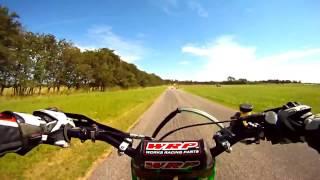 Honda CR500 2t - Kawasaki Kx 500 2t Motocross Supermoto Motos
