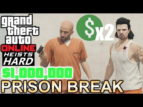 GTA: Online Heists [Hard & Double $] - Prison Break