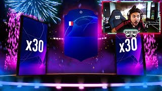 30 x CHAMPIONS LEAGUE PACKS!!! FIFA 19