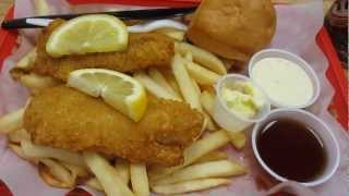 Fish & Chips @ Broaster Chicken Westlake Shopping Center Daly City California