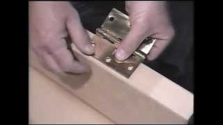 How To : Mortise Door Hinge