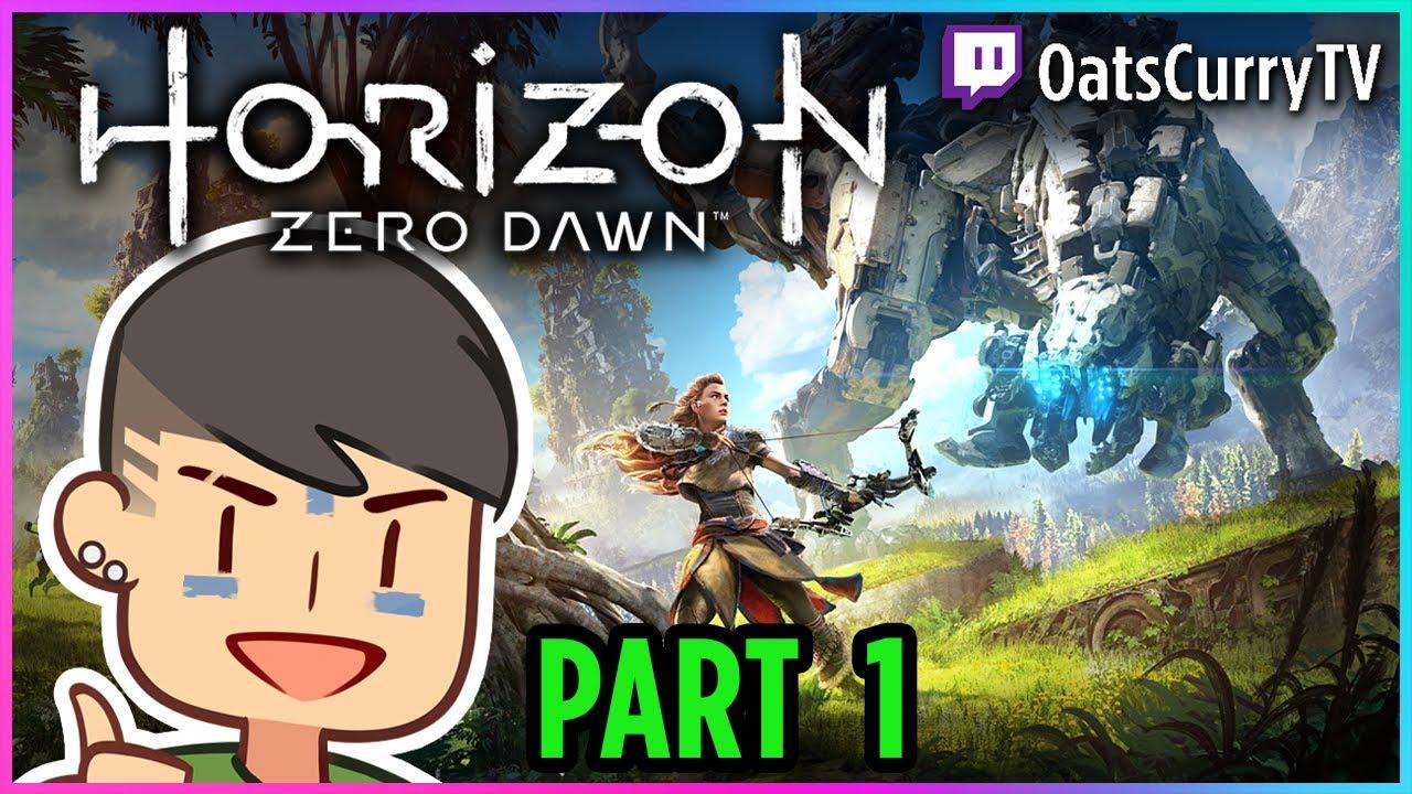 Oats Plays Horizon Zero Dawn Part 1 This World is SO Beautiful Longplay Stream
