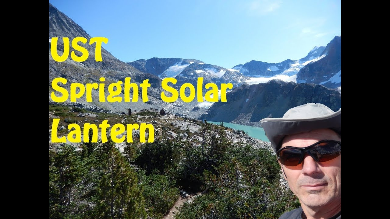 UST - Spright Solar Lantern - Ultimate Survival Technologies 2018-01-18 23:43