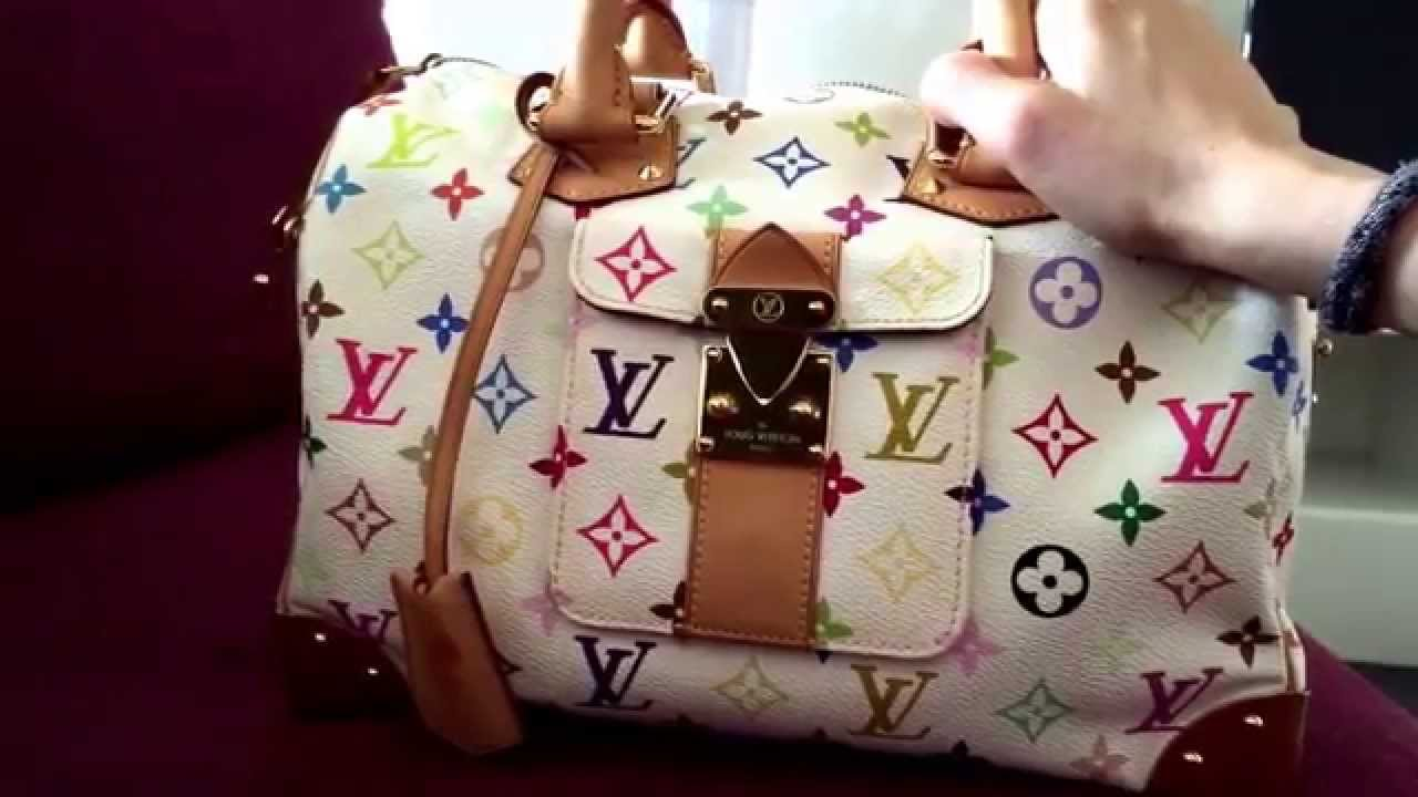 646840daed96 Louis Vuitton Multicolour Speedy 30