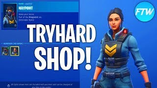 Fortnite Item Shop THE MOST TRYHARD SKINS ARE STILL ON!!! (Fortnite Battle Royale)