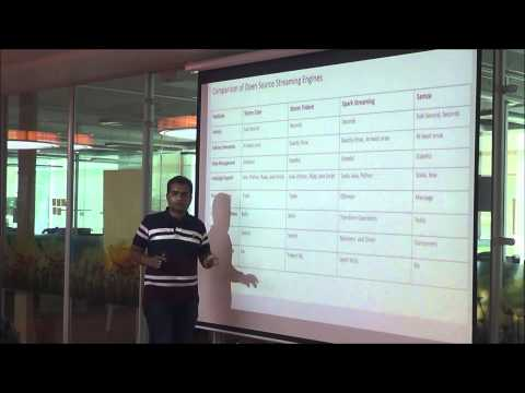 Overview of BigData Streaming - Chetan at Software Architects Bangalore