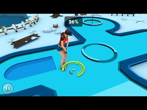 Mini Golf Game 3D - iPhone, iPod Touch & Android Gameplay Video