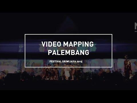 FULL VIDEO MAPPING | Sri Vijaya in Sriwijaya Festival XXIII