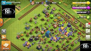 Clash of clans hack mod new 2018. version gameplay download link in description