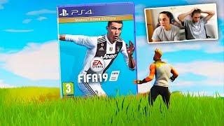 FORTNITE VS FIFA 19 CHALLENGE