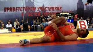 Ossetian wrestler Soslan Ktsoev