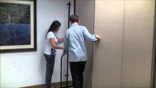 How To Mount Screenflex Room Dividers To A Wall