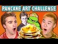 PANCAKE ART CHALLENGE! (ft. React Cast) | Challenge Chalice