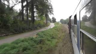 Czech Republic: CD Railways Class 742 in action working the passenger Prague - Cercany T210 line
