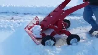 Лопата для снега СНЕЖОК 2. SNOW SHOVEL