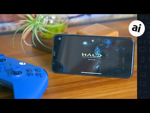 Playing Halo on iPhone and iPad with Project xCloud!