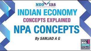 NPA Concepts | Money & Banking | NPA | Part 1
