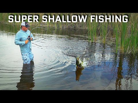 Super Shallow Fishing... Epic Day!