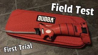 Bubba Lithium Ion Cordless Fillet Knife (First take)