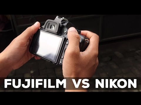 FUJIFILM x-m1 VS NIKON d5200