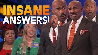 More of Steve Harvey's CRAZIEST MOMENTS! | Family Feud