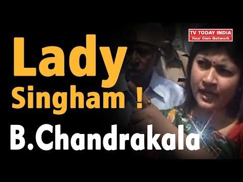 Lady Singham B. Chandrakala | District Magistrate Mathura's City Inspection | Very Popular Video