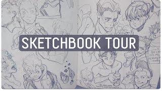 SKETCHBOOK TOUR // 2017 - 2018