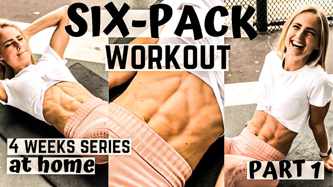 SIX-PACK WORKOUT AT HOME - 4-weeks series (Part 1) with weights targeting the lower abs