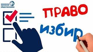 Законодательство РФ о выборах. Избирательное право 🎓 ЕГЭ - обществознание без репетитора