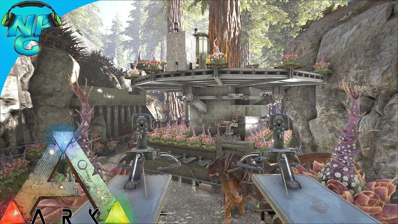 Raiding The Tree Platform Base In The Redwoods Ark Survival Evolved Pvp Season E32
