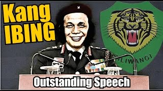 Bodor Sunda : Kang Ibing Pidato ngacapruk
