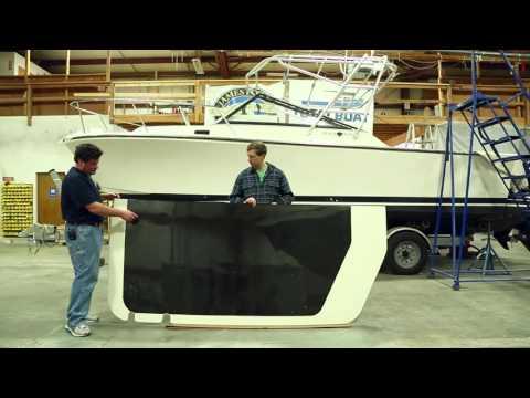 BlackWatch Carbon Fiber HardTop Bimini - Part 3