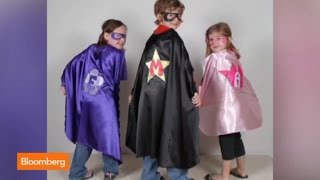 Superfly Kids: The Superhero Cape Business Takes Off