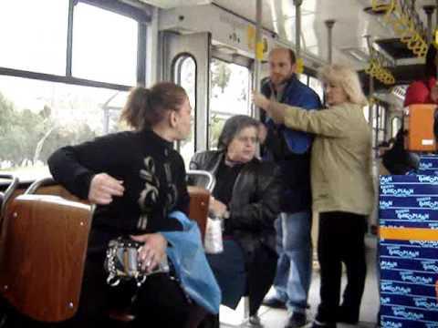 Τσακωμός στο λεωφορείο