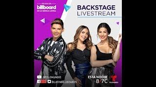 En Vivo desde el backstage de los Premios Billboard de la música latina 2019