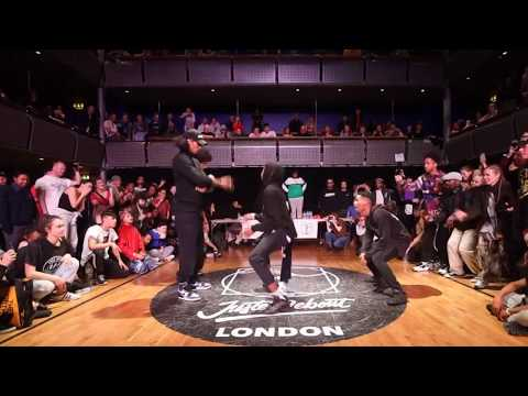 Les Twins Vs Ice Shin Juste Debout UK Hip Hop Semi Final!