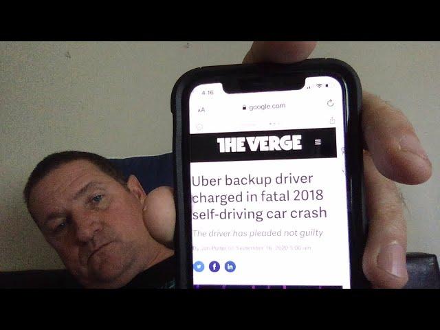 Uber backup driver charged in fatal 2018 Arizona self-driving crash