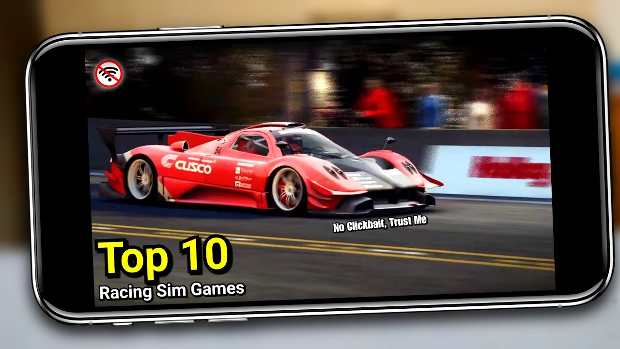 Top 10 RACING SIMULATOR Games For Android & iOS 2020 (Offline & Online)|High Graphics &