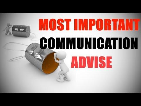 Most Important Communication Tip –Hindi