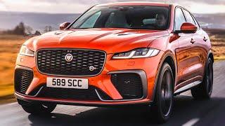 2021 Jaguar F-Pace SVR - Interior, Exterior, Drive